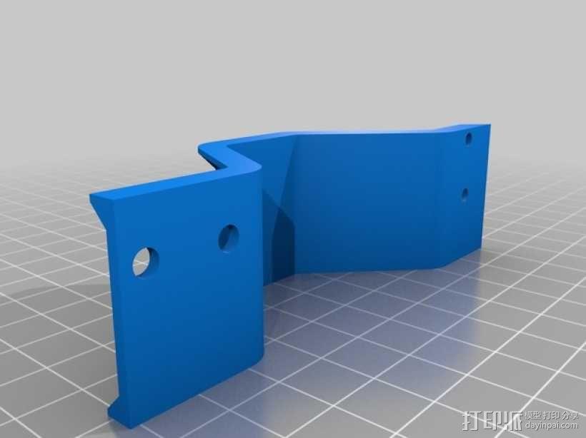 Y轴桥架 3D模型  图1