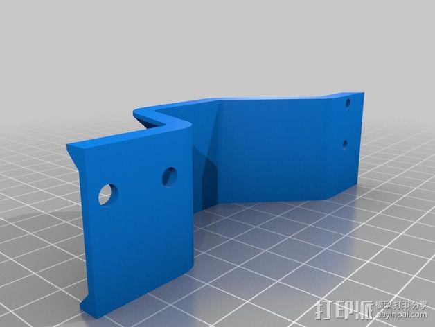 Y轴桥架 3D模型  图4