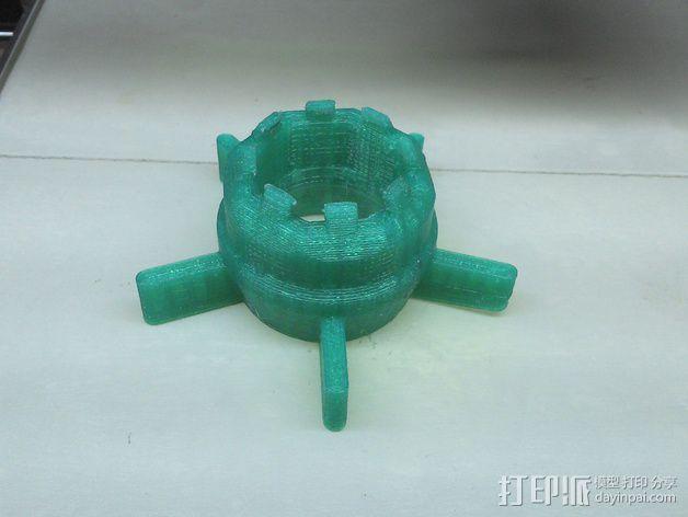 K8200挤出器 3D模型  图4
