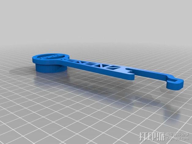 Prusa i3 线轴 3D模型  图4