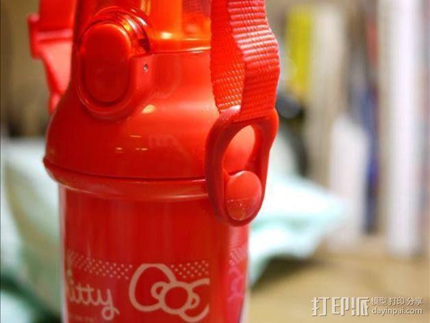 塑料瓶扣环 3D模型  图3