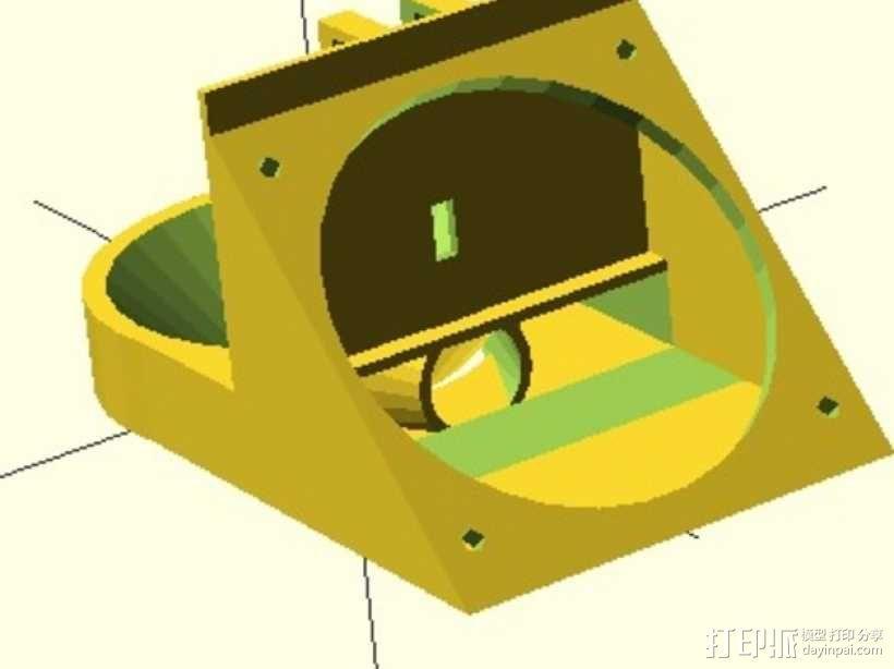 通风导管 3D模型  图1