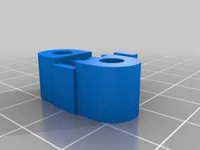 K8200 X-belt支架 3D模型