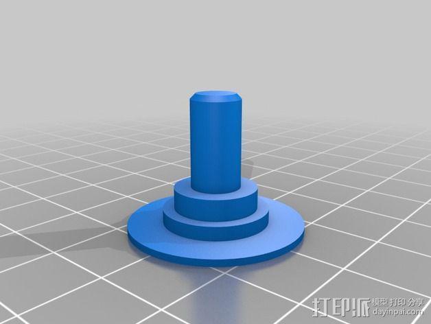 LCD保护壳 3D模型  图4