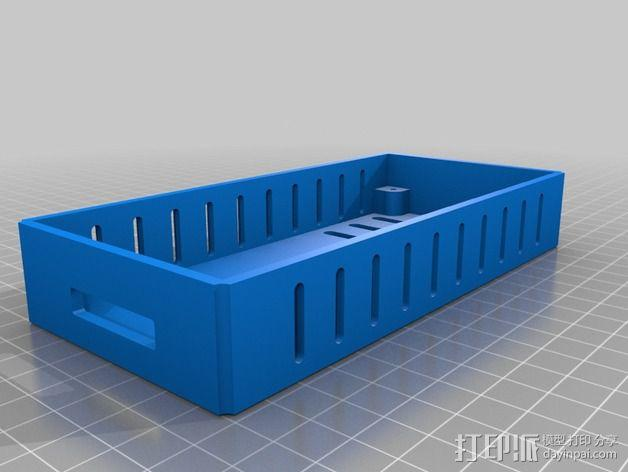 LCD保护壳 3D模型  图6