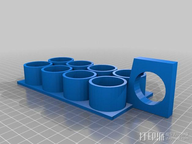 ABS黏胶板  3D模型  图3