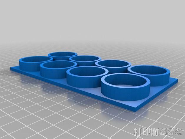 ABS黏胶板  3D模型  图5