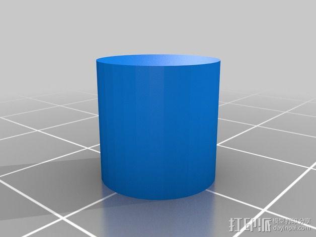 ABS黏胶板  3D模型  图6
