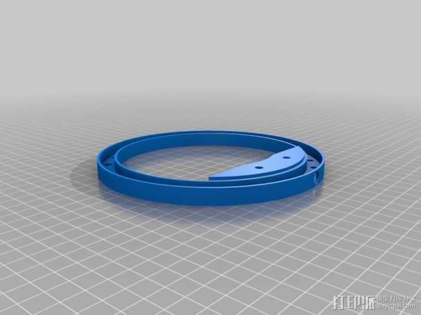 K8200适配器 3D模型  图3