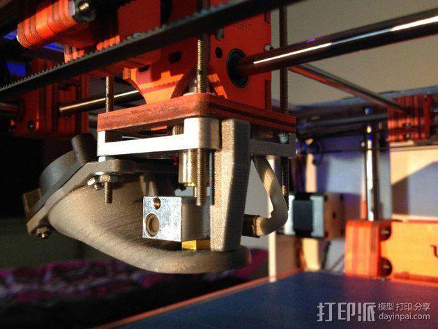管垫片 3D模型  图2