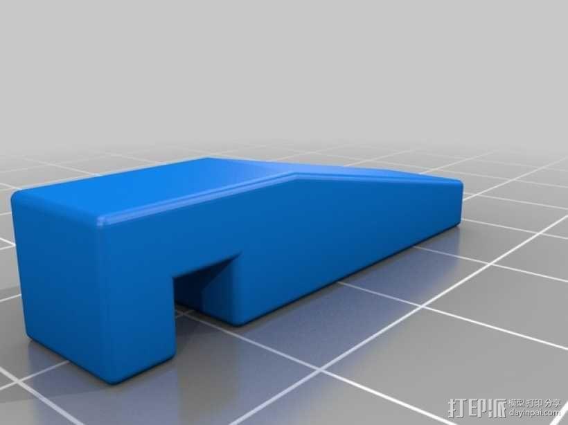 管垫片 3D模型  图3
