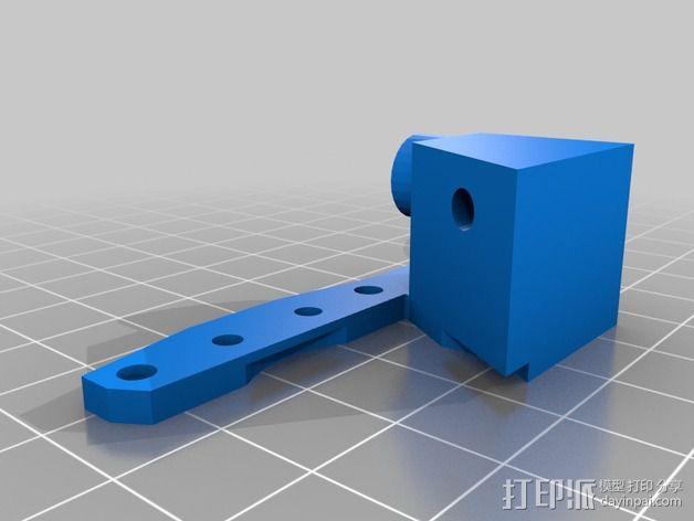 Replicator2X适配器 3D模型  图2