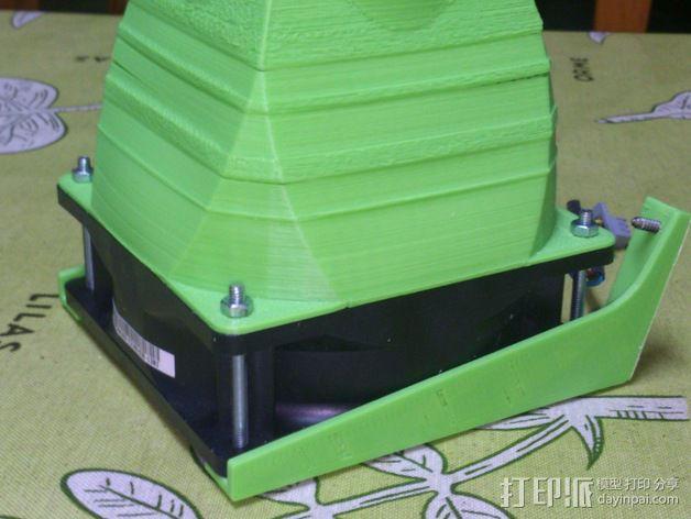 prusa 3适配器 3D模型  图1