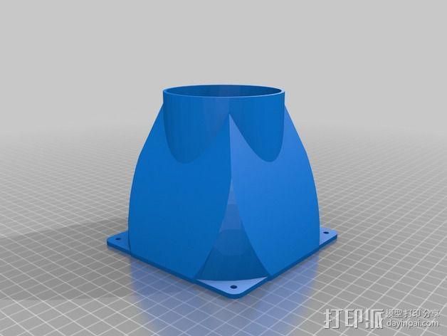 prusa 3适配器 3D模型  图4