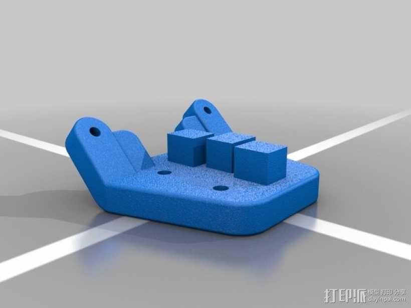Kossel Mini适配器 3D模型  图1