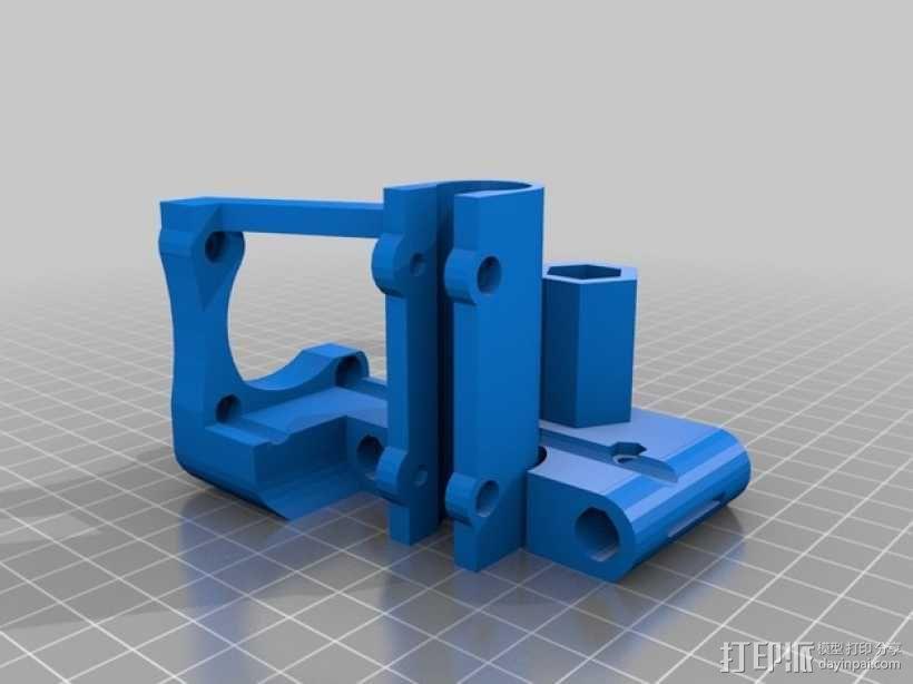 Z轴支架 3D模型  图1