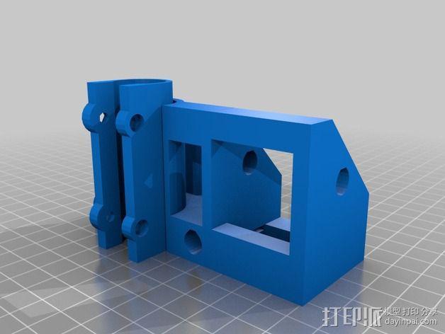 Z轴支架 3D模型  图2