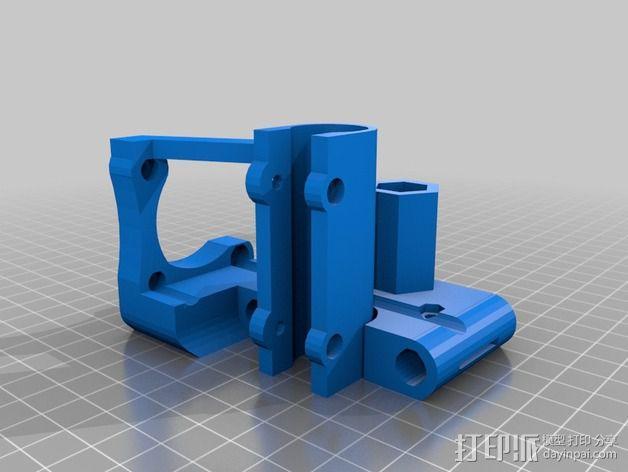 Z轴支架 3D模型  图3