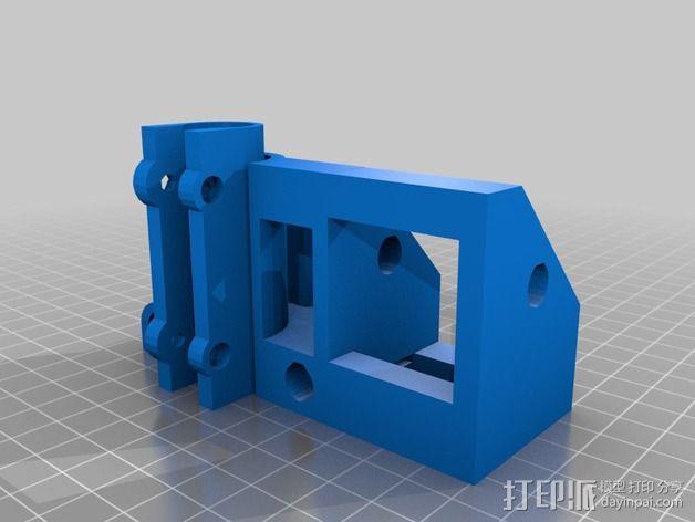Z轴支架 3D模型  图4