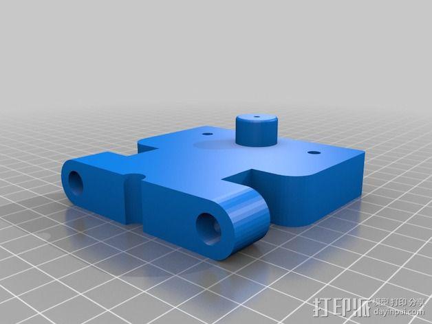 Prusa I2适配器 3D模型  图1