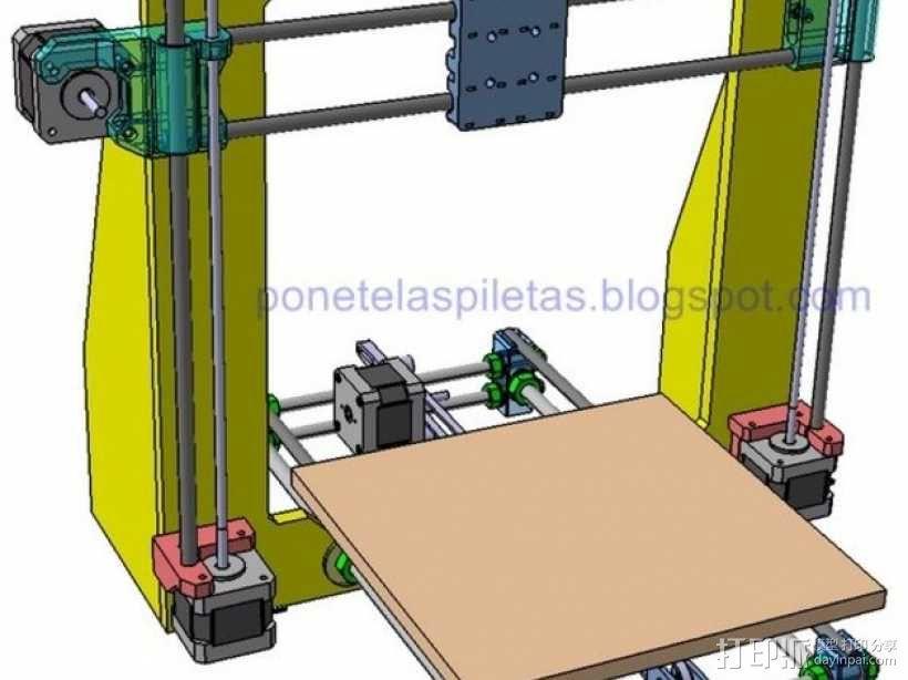 prusa i3 适配器 3D模型  图1