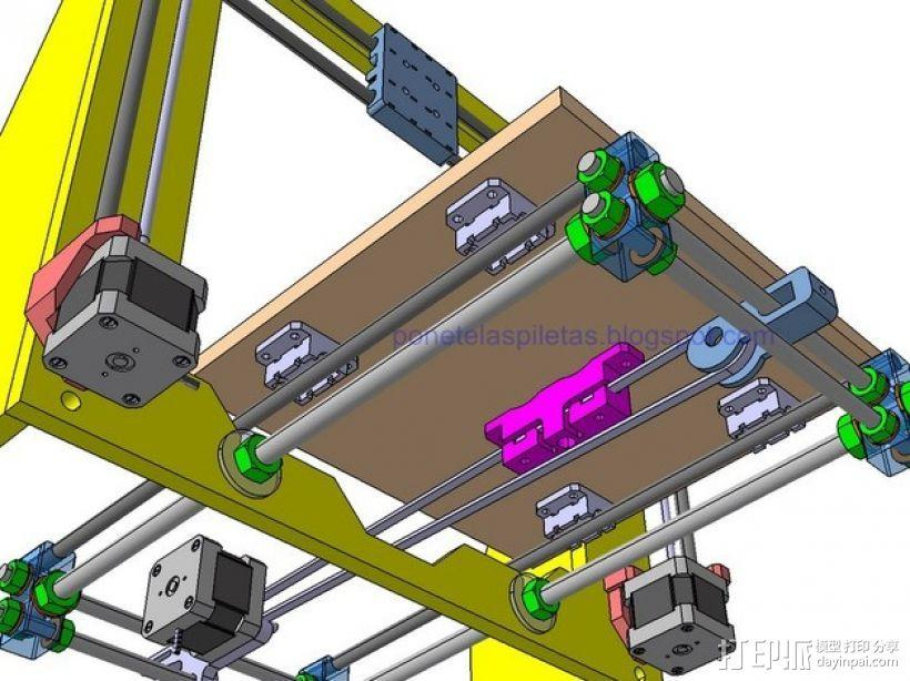 prusa i3 适配器 3D模型  图5