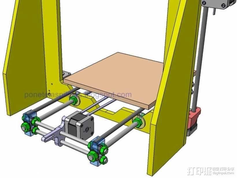 prusa i3 适配器 3D模型  图3