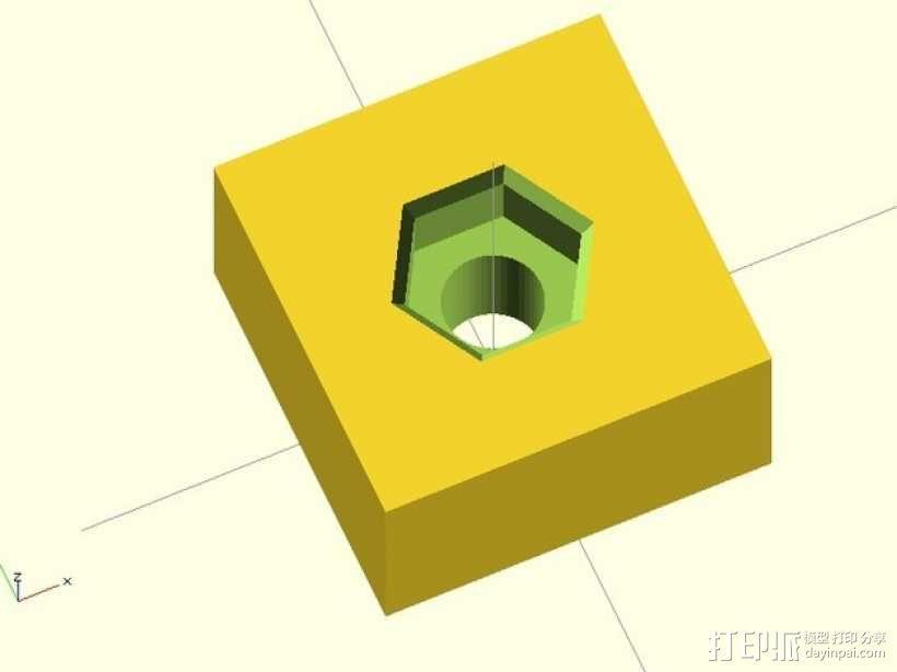 小型核准器 3D模型  图2