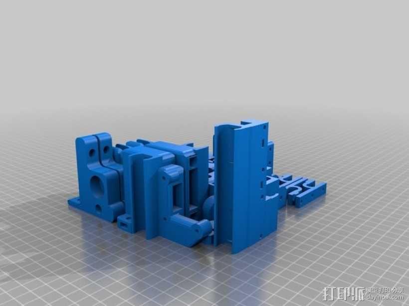 Prusa i3 板 3D模型  图1