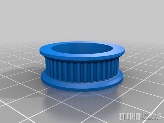 T2轴承  3D模型  图1