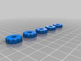 i3 Prusa 8适配器 3D模型