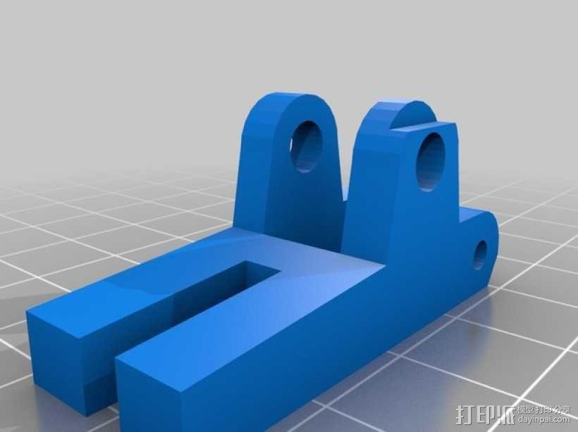 挤出机 MK3 3D模型  图4