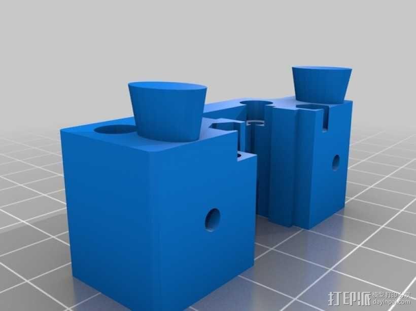 挤出机 MK3 3D模型  图3