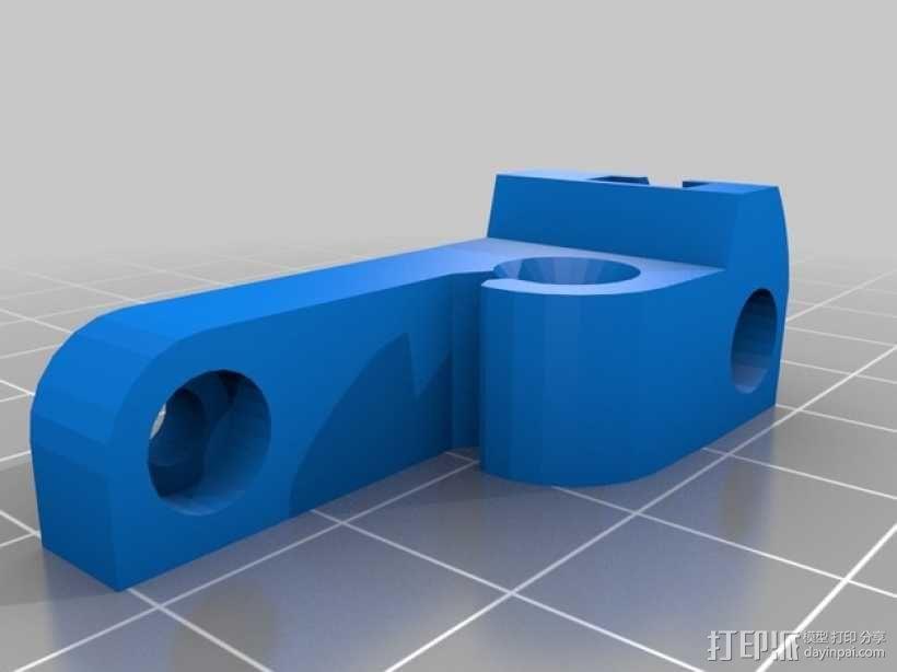 挤出机 MK3 3D模型  图2