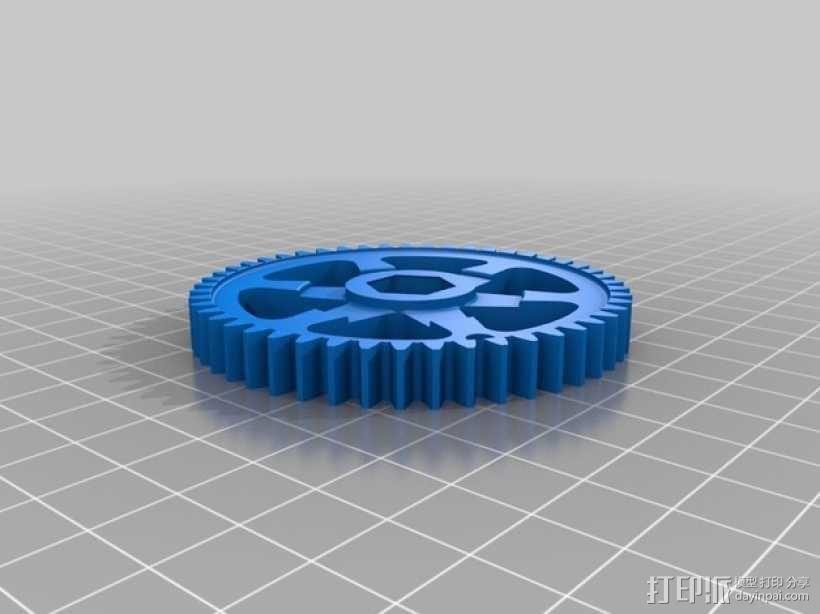 升级版挤出器 3D模型  图2