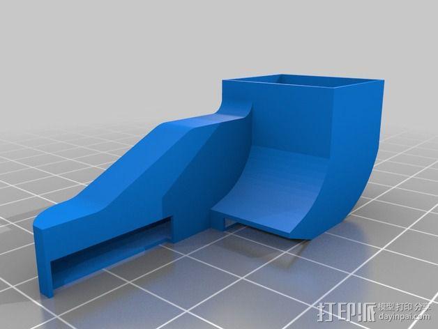 E3D 直接驱动挤出器 3D模型  图2