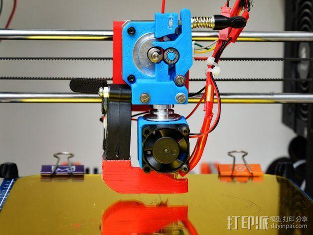 E3D 直接驱动挤出器 3D模型  图1