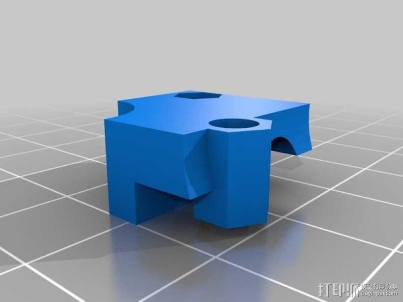 M2挤出器 3D模型  图2