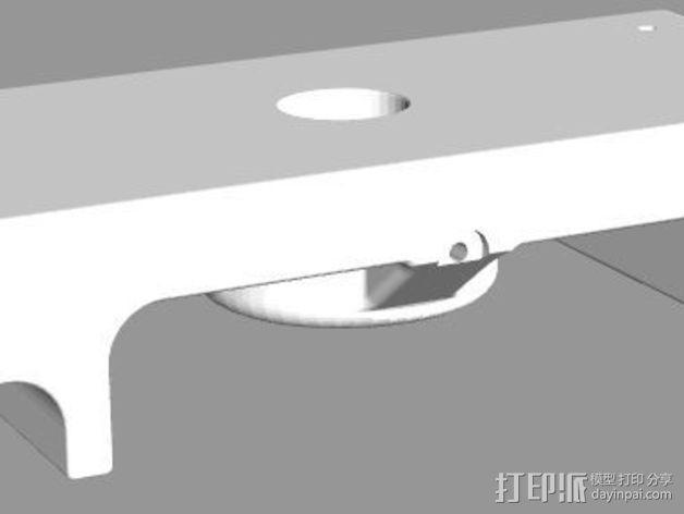 MakerBot Replicator 2X支架 3D模型  图4