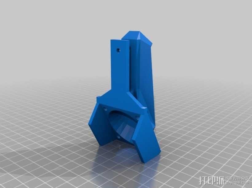 风管打印机 3D模型  图3