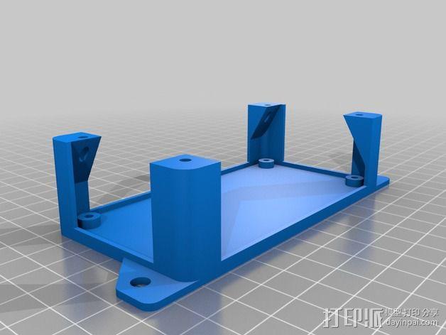 Sanguinololu 保护壳 3D模型  图2