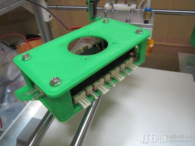 Sanguinololu 保护壳 3D模型  图1