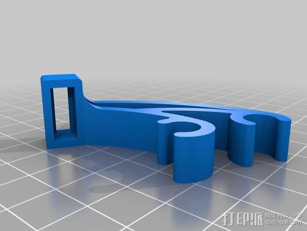 Prusa i3 驱动器 3D模型  图1