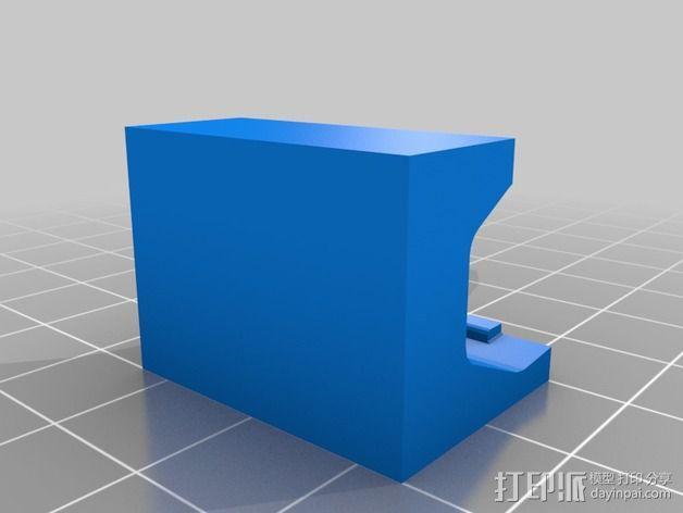 WAGO 222 适配器 3D模型  图2