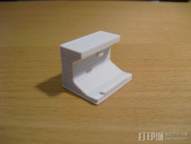 WAGO 222 适配器 3D模型  图3