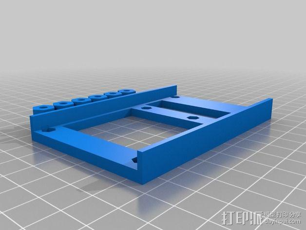 MEGA 2560 适配器 3D模型  图1