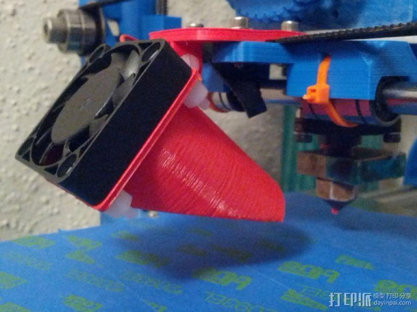 风管夹 3D模型  图1