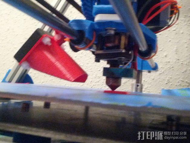 风管夹 3D模型  图4