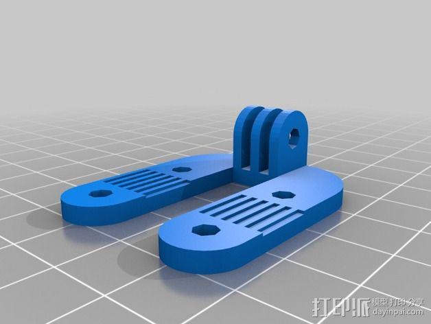 风管夹 3D模型  图3
