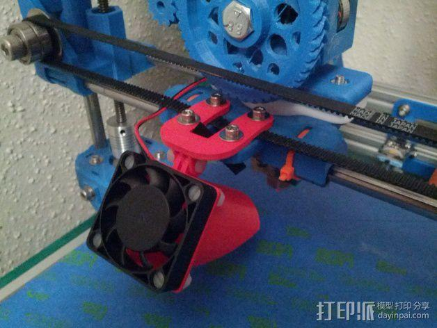 风管夹 3D模型  图5